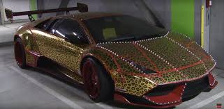 Craziest Lamborghinis In the World Come from Japan, with Spikes ...