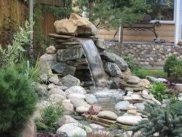 Small Picture Brilliant Backyard Water Feature Ideas Garden Design Garden Design