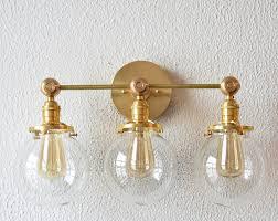 brass vanity light fixtures lighting designs