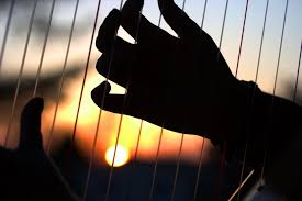 Image result for fingers playing a harp images