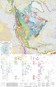 Северная Америка Википедия Геологическая карта Северной Америки