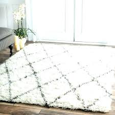 white fluffy area rug plush bedroom rugs incredible soft sweetolive