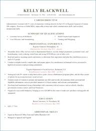 Formal Resume Template Resume Example