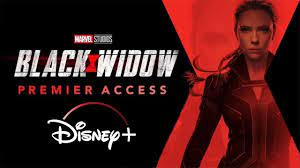 Black Widow Premiere On Disney Plus ...