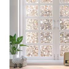 Amazonde Rabbitgoo Fensterfolie 3d Folie Für Fenster Dekorfolie