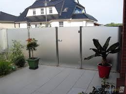 Glaszaun F R Wind Und Sichtschutz Glasprofi24