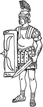 Roman Soldier Coloring Sheet Trend Medium Size Drawing Page Here