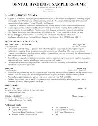 Dental Hygiene Resume Sample Best Of Dental Resumes Examples Dental Resumes Samples Resume Dental