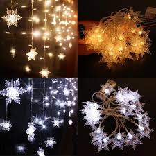 Ice White Led Christmas Lights Us 3 61 33 Off Led String Lights Snow Fairy 2m 20led 5v Powered Outdoor Warm Cool White Copper Wire Christmas Festival Wedding Party Decoration In
