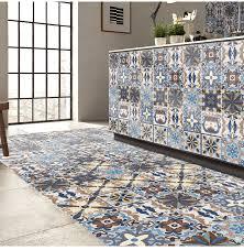 25pcs self adhesive bohemia simulation ceramic tiles diy kitchen bathroom wall decal stickers decor