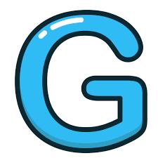 Blue Letters Blue Letter G Alphabet Letters Icon