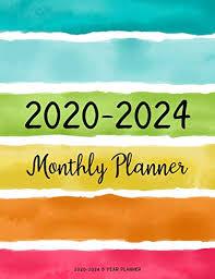 Teacher Organizer Planner 2020 2024 5 Year Planner Monthly Schedule Organizer Planner For To Do List Academic Schedule Agenda Logbook Or Student Teacher Organizer Journal