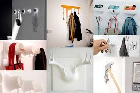 How To Hang A Coat Rack On A Wall Custom 32 Of The Most Creative Wall Hook Designs Freshome
