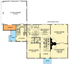 Saltbox Style Historical House Plan   WP   nd Floor Master    Floor Plan
