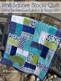 Best 25+ Boys quilt patterns ideas on Pinterest | Boy quilts ... & This quilt is perfect for a beginner.Pieces by Polly: Easy Half-Square  Blocks Quilt - Easy Pre-Cut Cuddle Cake and Layer Cake Pattern (Layer Cake  Patterns) Adamdwight.com
