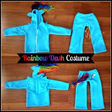 Pony Costume Ideas Rainbow Dash My Little Pony Costume Sewing Tutorial Pattern
