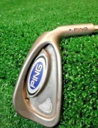 Details About Ping Blue Dot 6 Iron Golf Club Steel Shaft Right Hand