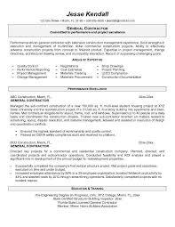 ... Smartness How To Make A General Resume Contractor Berathen Com ...