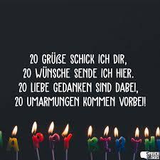 20 Grüße Schick Ich Dir 20 Wünsche Sende Ich Hier 20 Liebe
