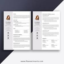 2020 New Resume Format Professional Resume Template 2020 Cv Template Cover Letter Modern Simple Resume Minimalist Resume 1 3 Page Resume Ms Word Resume Editable Cv