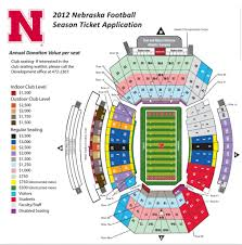 Nebraska Cornhuskers Stadium Seating Chart Elegant As Well As Lovely Nebraska Memorial Stadium Seating