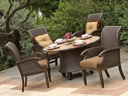 outdoor patio furniture set patio table and chairs