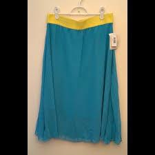 Lola Skirt Size Chart Lularoe Lola Skirt Size Large Nwt Nwt