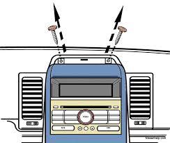 2007 2011 nissan sentra radio removal procedure nissanhelp com 2007 2011 nissan sentra radio removal procedure