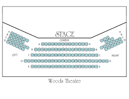 Pollak Theater Seating Chart Music And Theatre Arts Monmouth University
