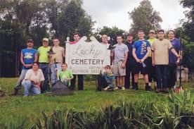 Masontown Boy Scouts cut grass at cemetery | Uploaded-photos |  heraldstandard.com