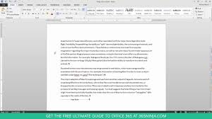 How to Delete an Unwanted Blank Page in Word 2013 or 2016 - YouTube