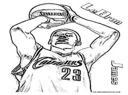 lebron james coloring pages image high resolution dunking q to page in inspirational of collection