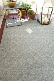 light blue outdoor rug designs
