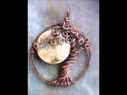Wire Wrap Dream Catcher Tutorial Tree of Life with Moons YouTube 40