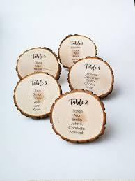 Best Wedding Seating Chart Printable Tree Stump Wedding Seating Chart Cards Sit Back