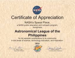 Astronomical League Of The Philippines Inc Alp