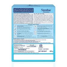 Similac Feeding Chart Similac Advance Stage 3 Infant Formula 400g After 12 Months