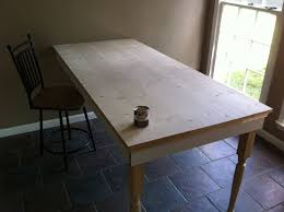 build your own kitchen or dining room table diysrc