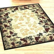 primitive area rugs braided wool rug round country