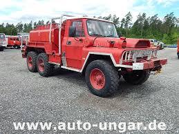 Used ALM ACMAT TPK 6-35C 6x6 Feuerwehr Firetruck 3.500l fire trucks ...