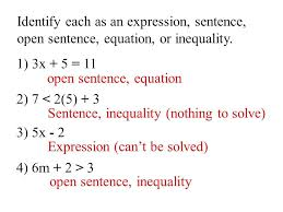 solving equations and inequalities worksheet plus expressions equations and inequalities worksheets identifying expressions equations and inequalities