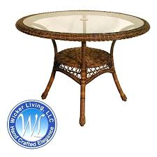 round resin patio table plastic tables wicker