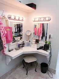 diy corner makeup vanity. Corner Makeup Vanity Table Diy V
