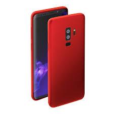 <b>Чехол Deppa</b> Case <b>Silk для</b> Samsung S9+ (красный металлик ...