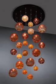 contemporary glass lighting. Contemporary Chandelier / Blown Glass LED Custom Lighting