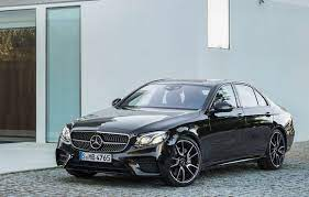The e63 models are now the amg e63 sedan and wagon. Mercedes Amg Muscles Up 2017 E Class With E43 Sedan Driving