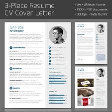 3-Piece Resume On Behance