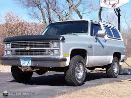 1984 Chevrolet Blazer K5 Silverado id 18188