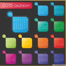 Printable Yearly Calendars For 2015 - Different Ideas - Elsoar