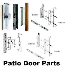 adjusting sliding glass doors sliding glass door track repair parts new patio door replacement parts or